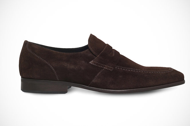 KG by Kurt Geiger brown suede loafers