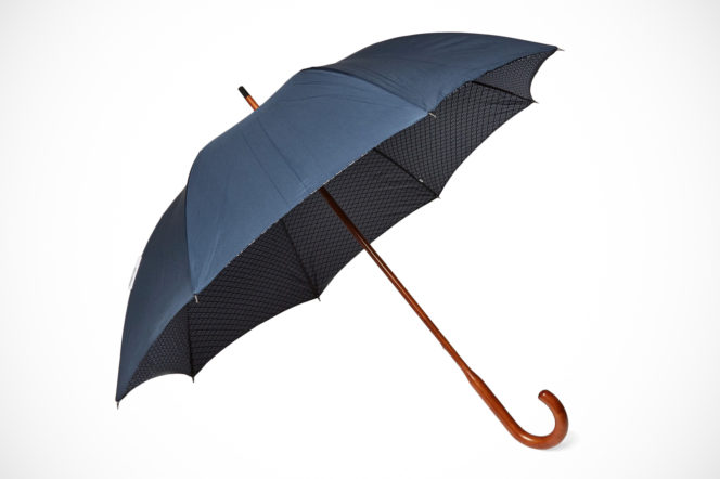 London Undercover walking umbrella navy