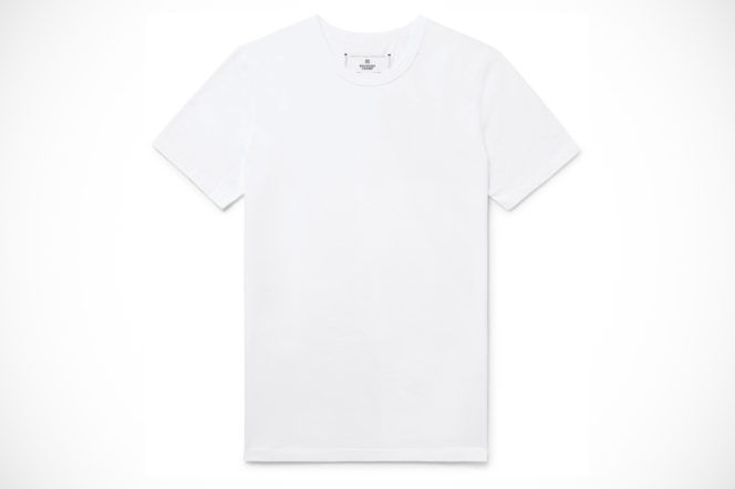 reigning champ white t shirt mr porter