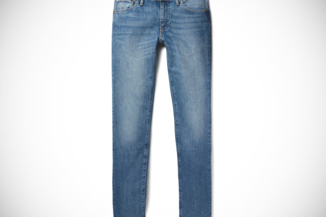 Levi's 511 mens slim fit stretch blue denim jeans