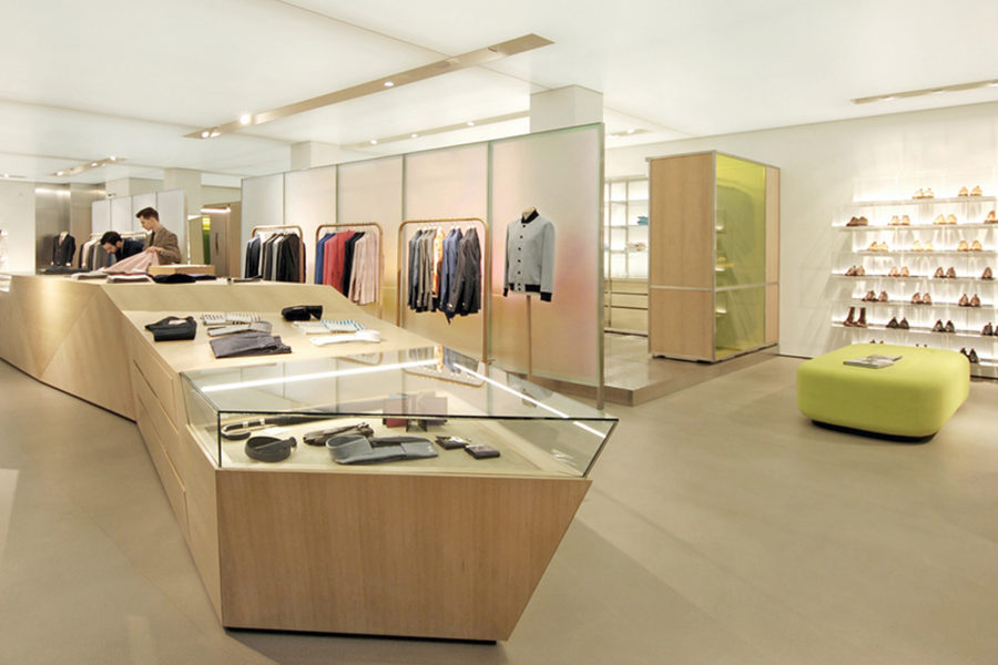 Richard James Savile Row interior