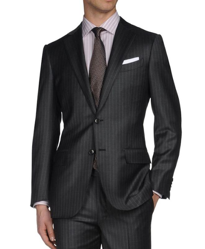 Style The Return Of The Pinstripe Suit The Gentleman S
