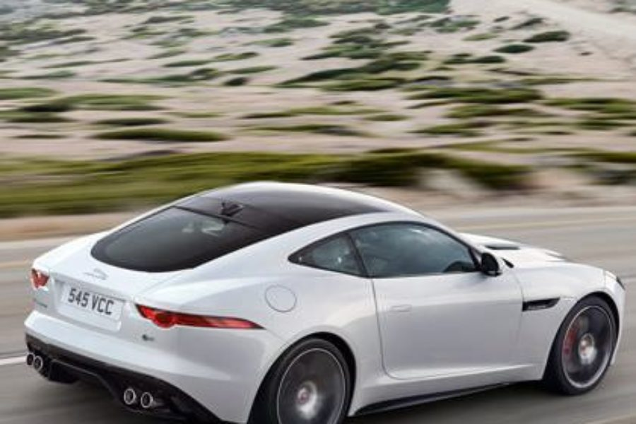 F Type Coupe >> Power The Most Exciting Car Release The Jaguar F Type Coupe