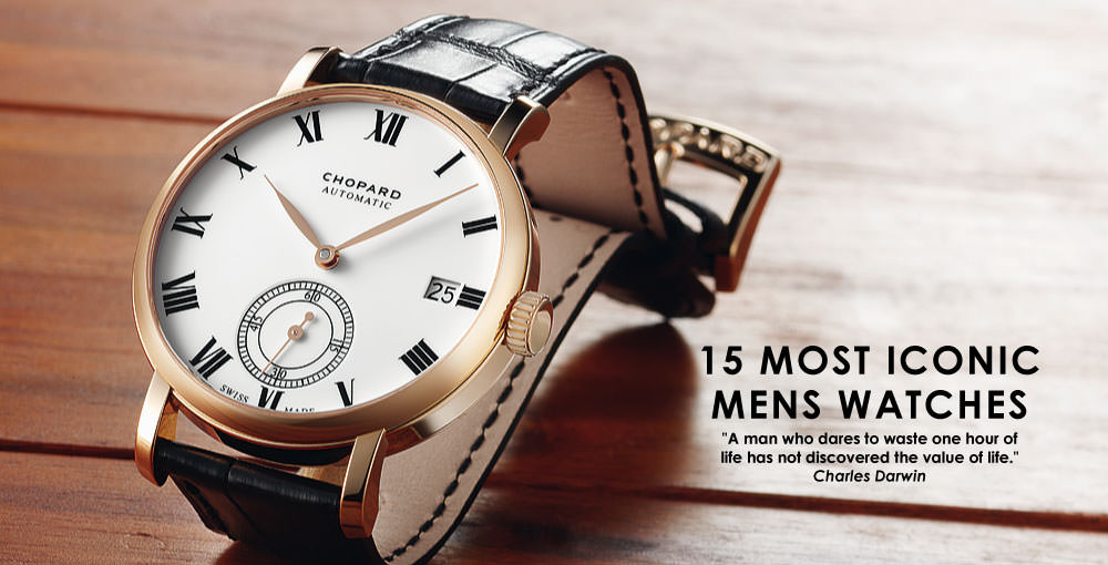 15 Most Iconic Men's Watches