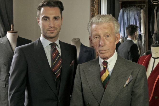 Edward and Dominic on Bespoke and made to measure