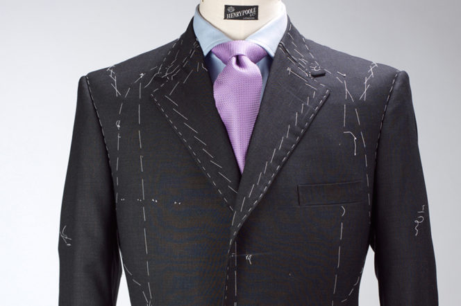 A bespoke suit construction by Henry Poole Savile Row