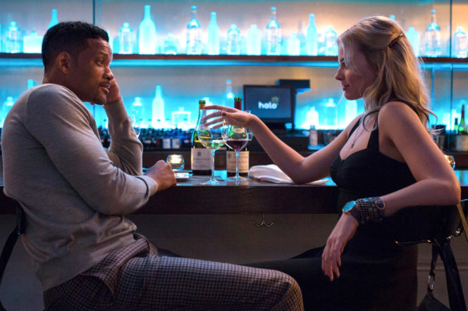 Will Smith and Margot Robbie in Focus