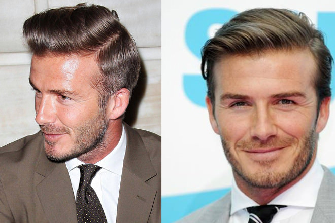 Superb BEST FOR MEN IN THEIR 40s. David Beckham Hair   TGJ