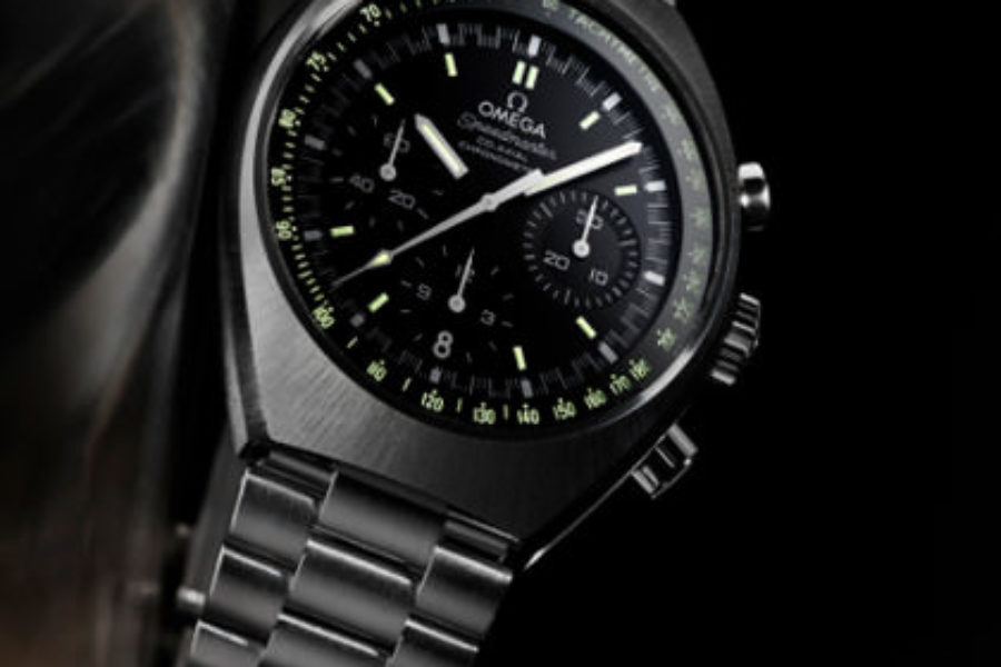 watches chronograph speedmaster black movement watch bezel anniversary dial and fake lemania omega
