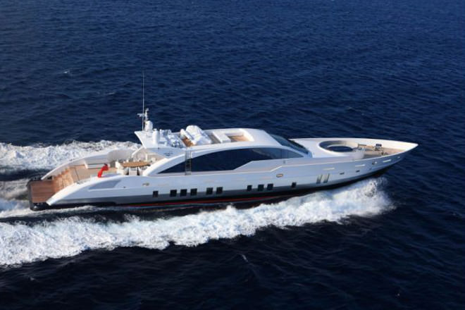 Doubleshot Is A Unique And Highly Individual Yacht Combining An Deco Style Interior With Layout Specifically Tailored To