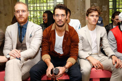 David Gandy and Oliver Cheshire London Collections Men 2015