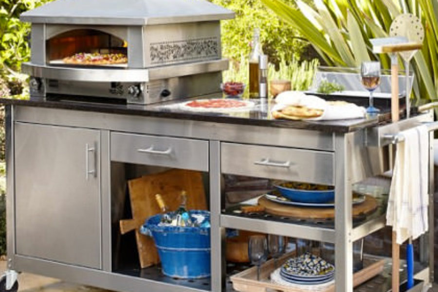 The Perfect Summer Essential Kalamazoo Outdoor Pizza Oven