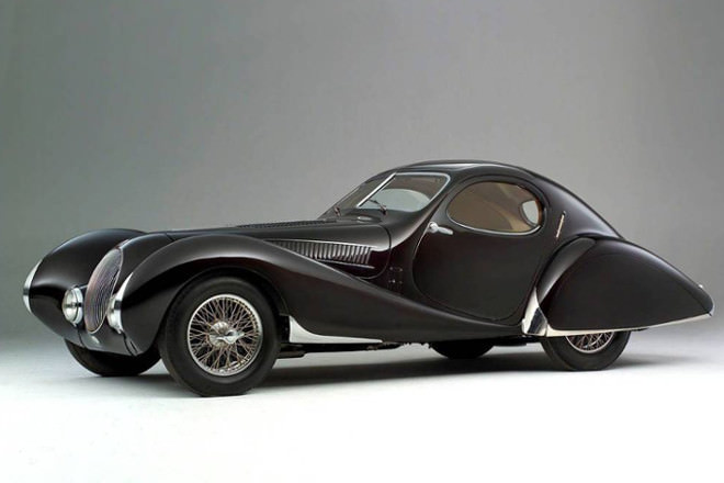 The most beautiful car...