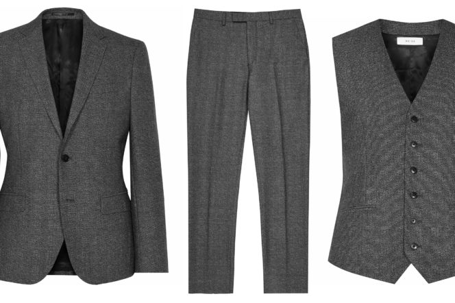 Reiss 3 piece suit