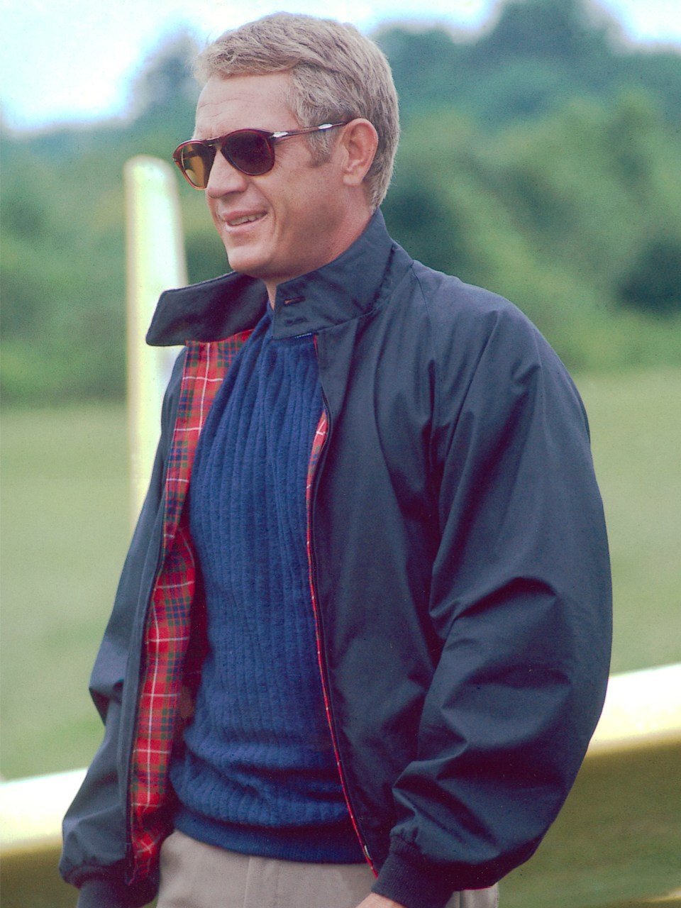Steve McQueen Persol and jacket