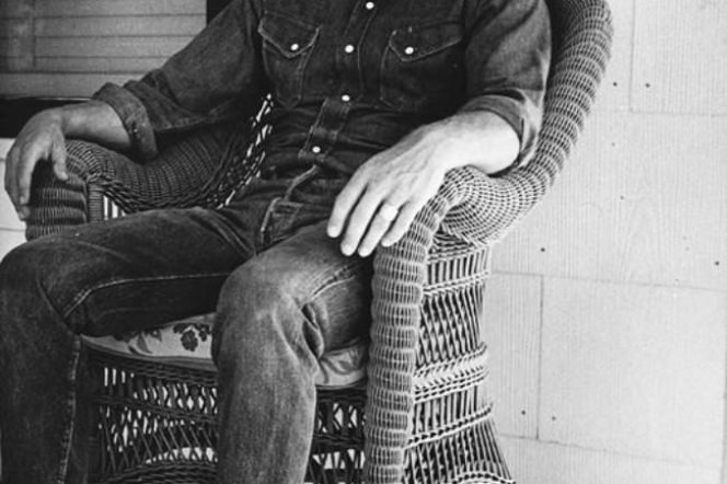 Steve McQueen wearing double denim