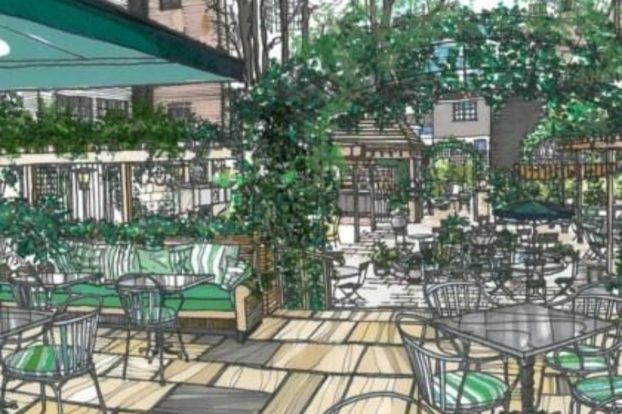 one of londons most iconic critically acclaimed restaurants the ivy is going west richard caring is set to open the ivy chelsea garden in march 2015 - Chelsea Garden Center