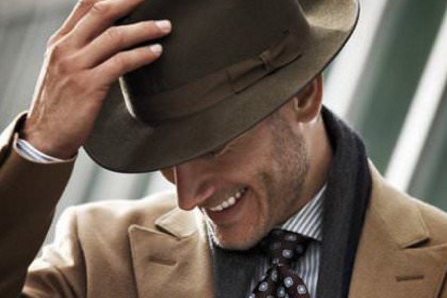 9e3095899575 The art of wearing a gentleman s hat is one that men should be familiar with.  There was