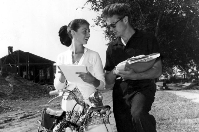 Pier Angeli and James Dean