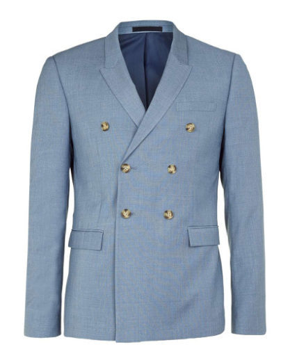 Should a gentleman wear a double-breasted jacket?