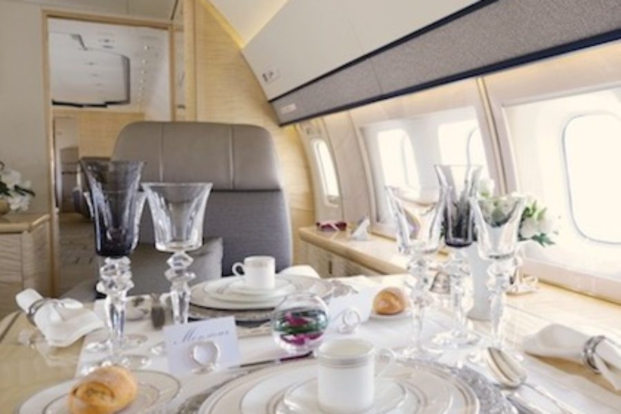 First Ever Private Jet Interior Concept Store Opened By Boutsen