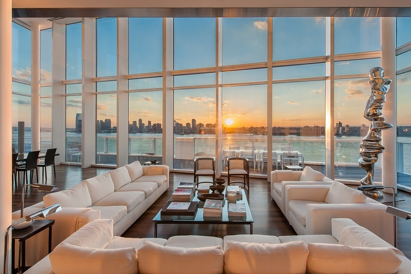 Property Of The Week Richard Meiers New York Penthouse