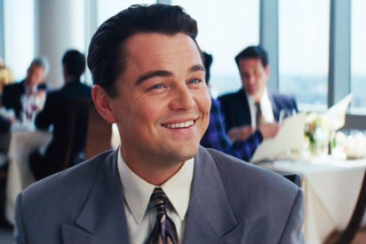 Leo Dicaprio Wolf of Wall Street smiling