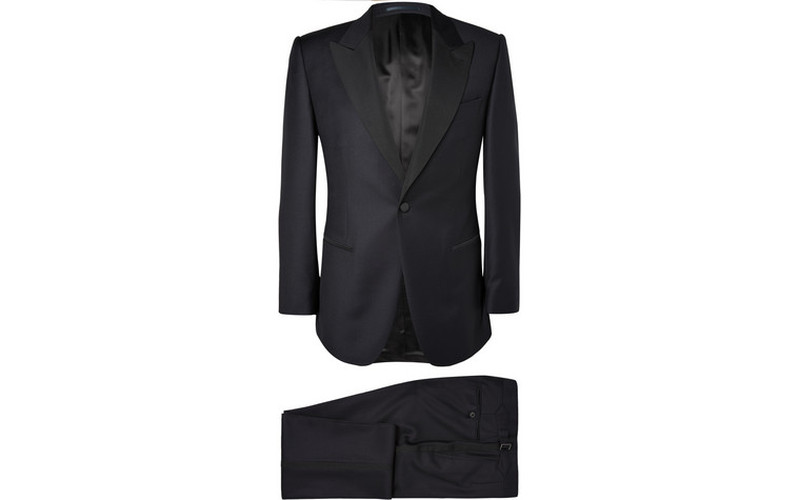 NAVY TUXEDO- THE GENTLEMAN'S JOURNAL