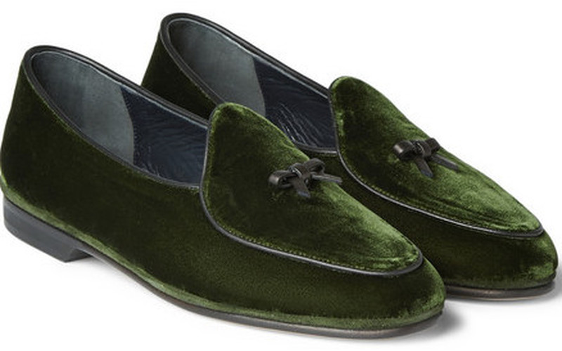 EVENING SLIPPERS- THE GENTLEMAN'S JOURNAL