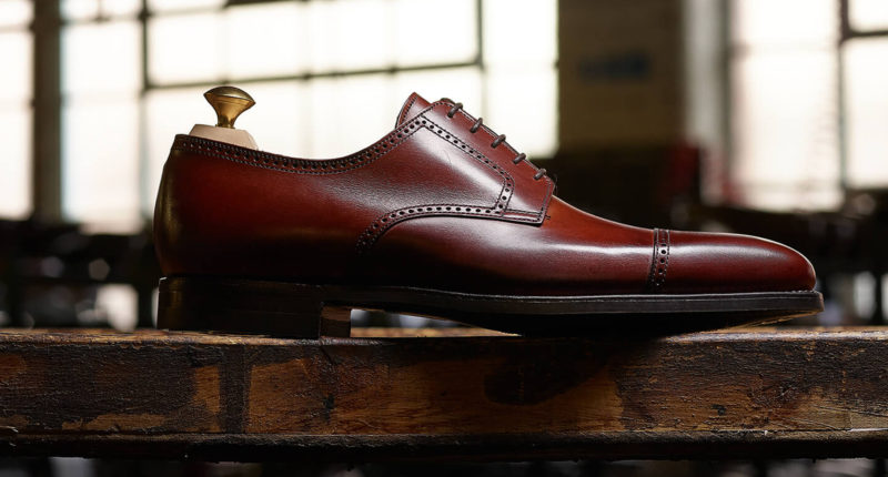 Crockett and Jones leather shoes