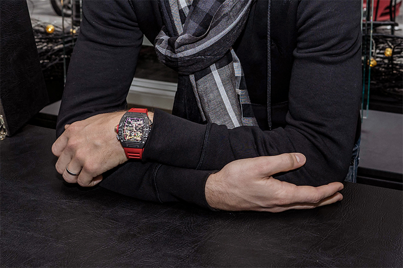 Grosjean Richard Mille The Gentleman's Journal