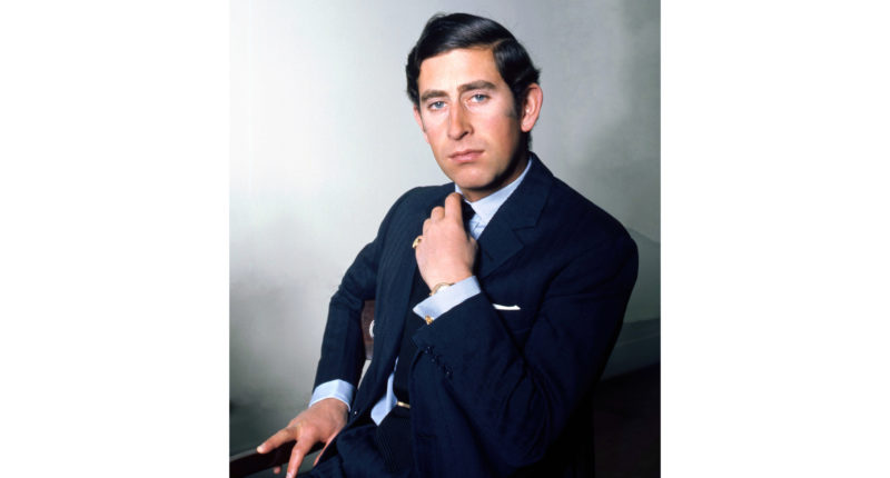 HRH Prince Charles, taken at Buckingham Palace / Allan Warren