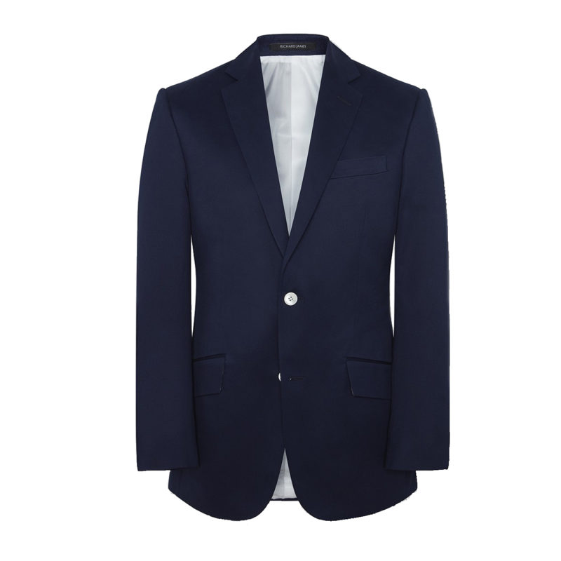 Richard James navy blazer