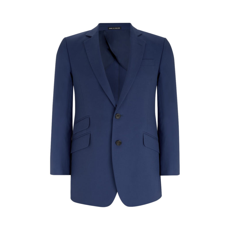 Turnbull and Asser cotton navy blazer