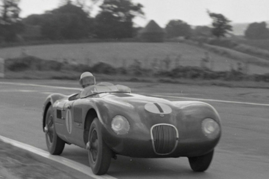 The Jaguar C Type U0027XKC 011u0027 Was Built As A New Specialist Project For The  Jaguar Works Racing Team In 1952. After Its First Outing At Silverstone, ...