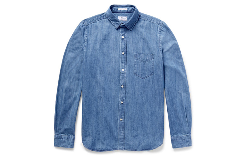 4bc35f9d04f1 Why every gentleman needs a denim shirt...