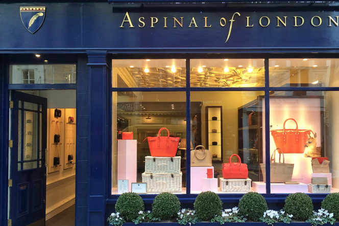 Aspinal of London storefront