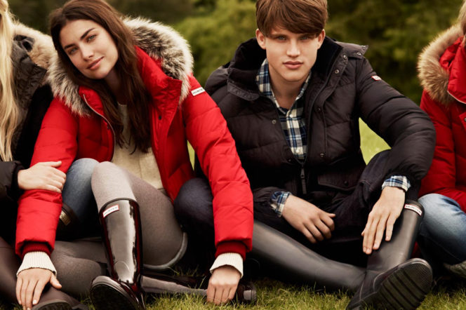 Hunter Boots ad