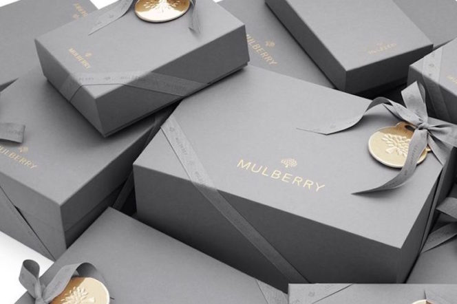 Mulberry England gift boxes