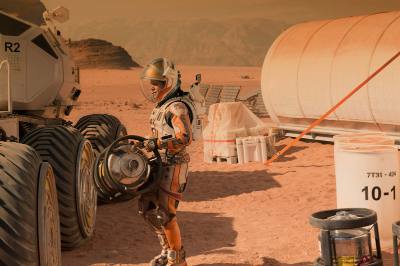 Mars The Martian Film - Fox - The Gentlemans Journal