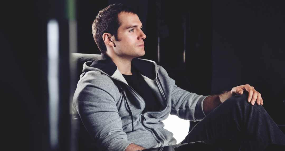 4 minutes with Henry Cavill