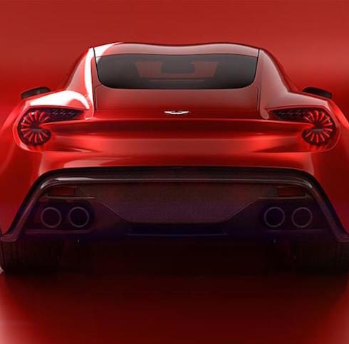 Aston Martin Reveal The Vanquish Zagato Concept