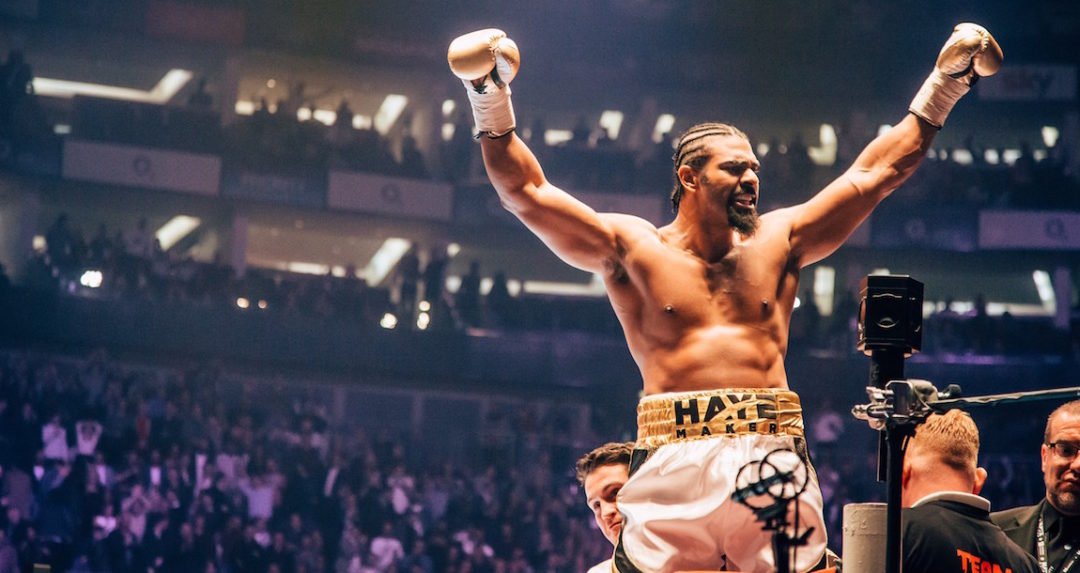 Ringside with David Haye, the one-punch knock-out specialist