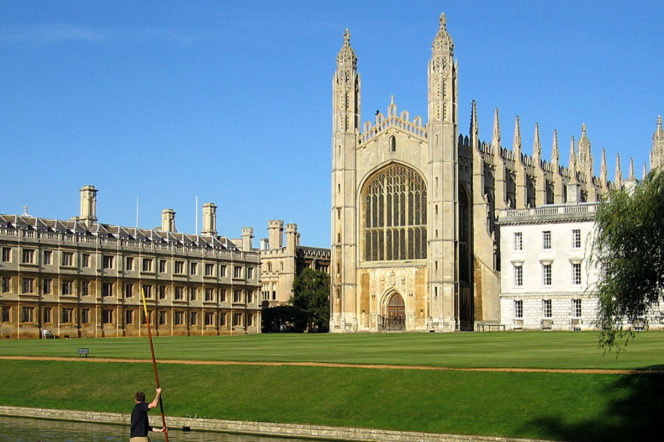 King's College Cambridge by Andrew Dunn