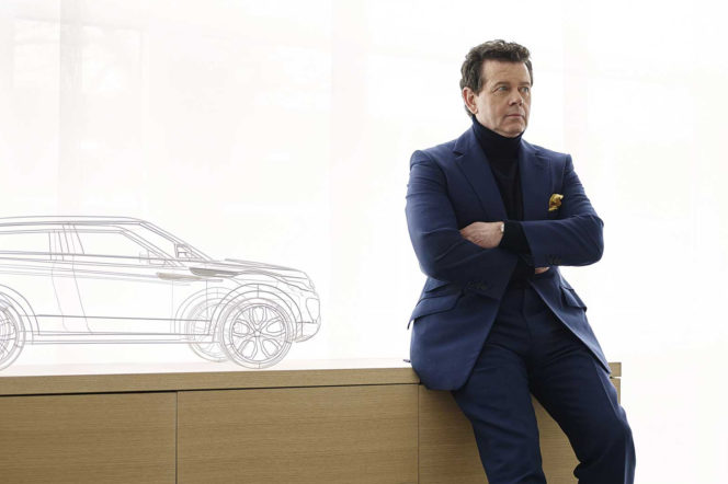 Gerry McGovern - Design Director at Land Rover