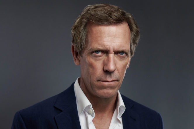 Hugh Laurie by Mitch Jenkins