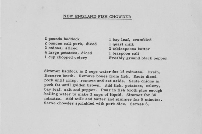 The secret recipes of four great gentlemen