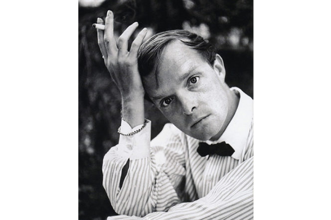 The iconic style of Truman Capote