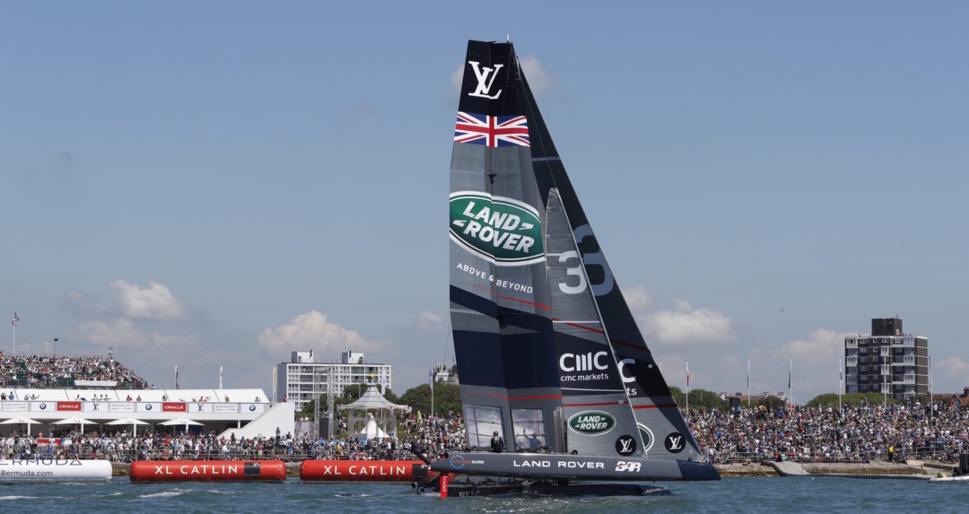Welcome to the deep end of sailing: the America's Cup World Series