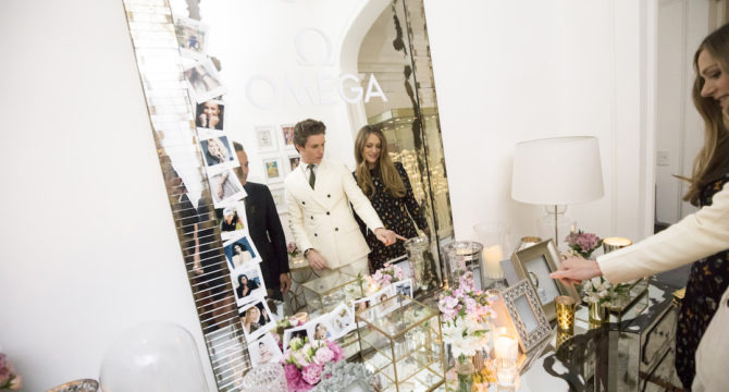 Eddie Redmayne opens OMEGA HOUSE for the 2016 Olympic Games